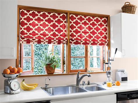diy kitchen window treatments pictures ideas from hgtv 10 stylish kitchen window treatment ideas hgtv
