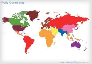 Asia Pacific Region Map Outline by Asia Pacific Map Outline
