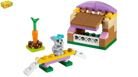 Rabbit Cage Hutch Lego Friends Bunny S Hutch 41022 Series 2 Review Youtube