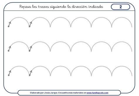 ejercicios de grafomotricidad con trazos curvos para ejercicios de grafomotricidad con trazos curvos para