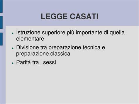 legge casati ppt storia della scuola italiana dall unit 224 d italia