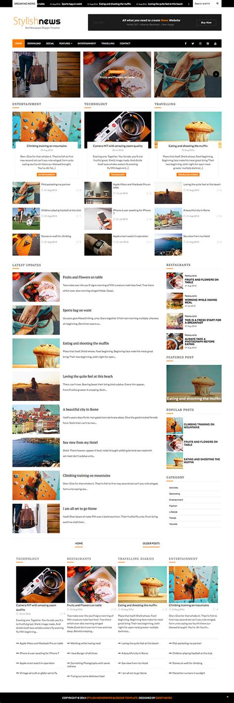 7 amazing blogger templates that you don t want to miss