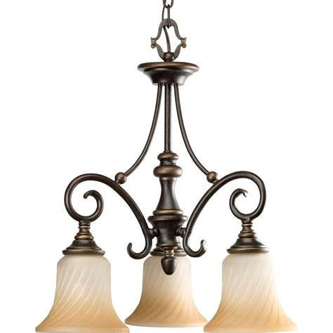 hton bay alta loma chandelier hton bay alta loma 3 light ridge bronze chandelier