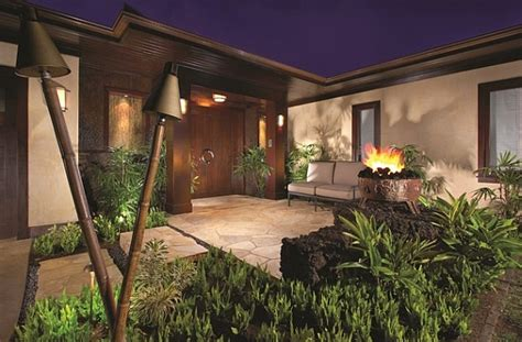 Beleuchtung Romantisch by Outdoor Beleuchtung Ideen Tiki Fackeln Erhellen Ihre