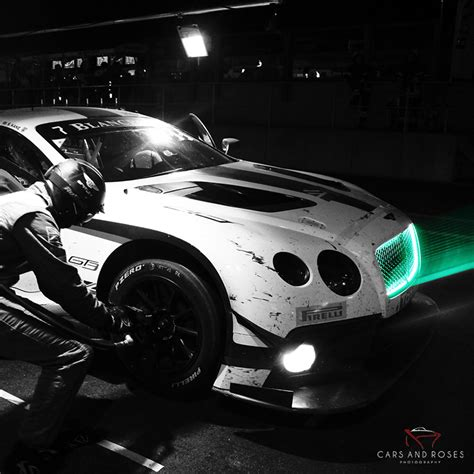 bentley night photo bentley continental gt3 cars and roses