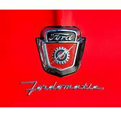 1950s Ford F 100 Fordomatic Pickup Truck Hood Emblems