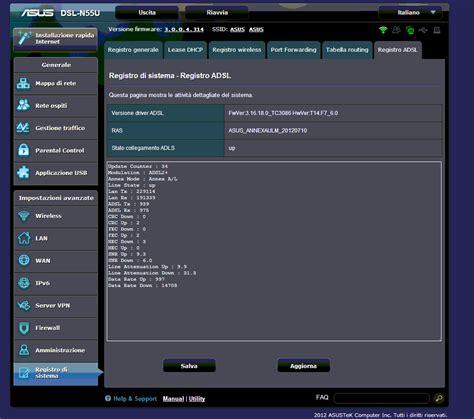Modem Asus Dsl N55u consiglio configurazione modem asus dsl n55u pagina 2