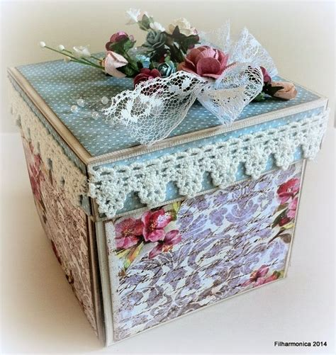 Handmade Explosion Box - 63 best images about etui box on sewing box