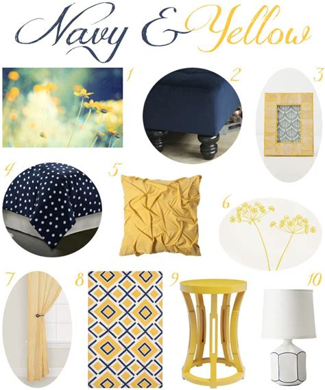 yellow bedroom decor 25 best ideas about navy yellow bedrooms on