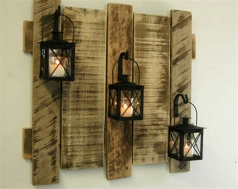 wooden art home decorations decorate your home with pallets pallet wood projects