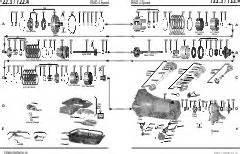 Mercedes Transmission Parts Mercedes 722 3 722 4
