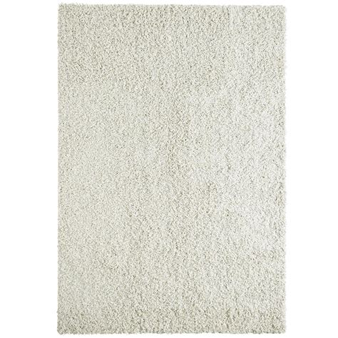 lanart rugs lanart comfort shag white 7 ft x 10 ft area rug cshag710w the home depot