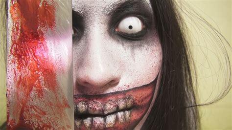 makeup tutorial jeff the killer jeff the killer makeup by kisamake on deviantart