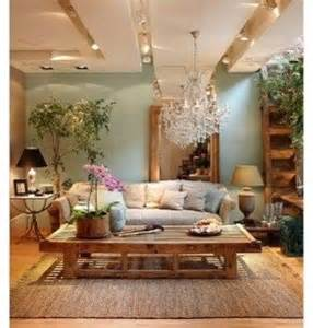 peaceful living room decorating ideas natural wood wall shelves foter