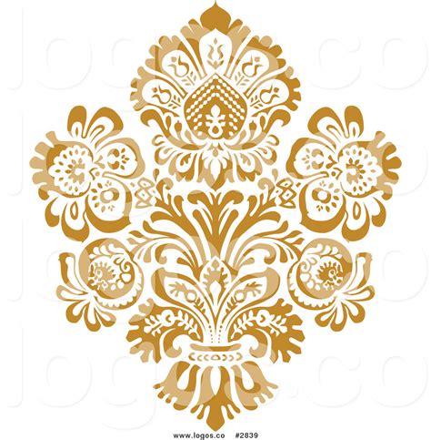 Design Gold Free   16 gold vector art designs images gold floral design