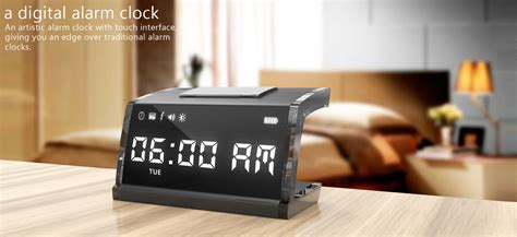 alarm clock that gives you an electrical shock to your up