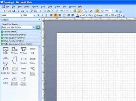 visio drawing scale microsoft visio scale drawing part 1