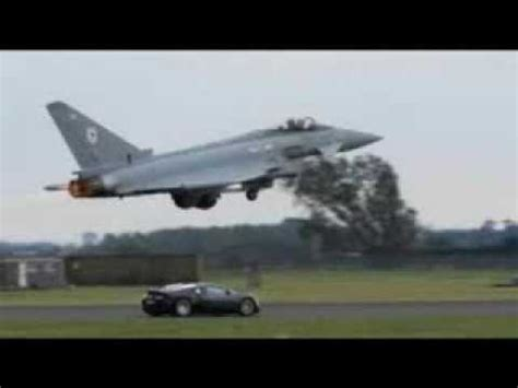 bugatti jet bugatti veyron vs eurofighter typhoon jet must watch