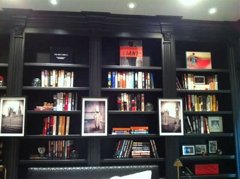 black built ins built in bookshelves painted black home general