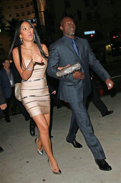 Kimora Simmons New Boyfriend Dijimon Hounsou 3 by Djimon Hounsou And Kimora Simmons Leave The Tea Room
