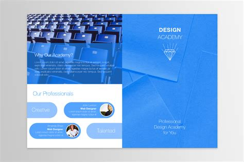 bi fold brochure design templates free publisher templates for mac