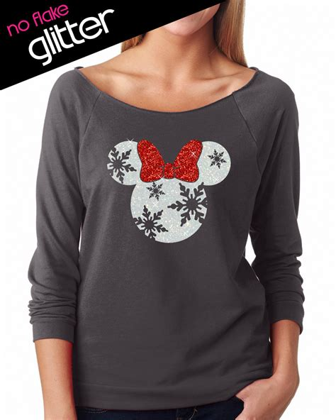 T Shirt Mad Hal 8iq3 glitter disney snowflake minnie lightweight