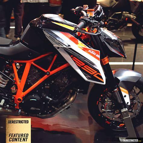 Ktm 1290 Power Parts Ktm 1290 Superduke R Powerparts Bike At Eicma Derestricted