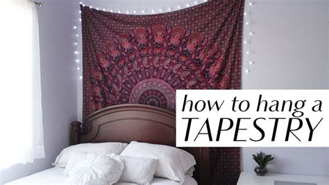 how to hang a picture how to hang a tapestry in 3 easy ways home decor