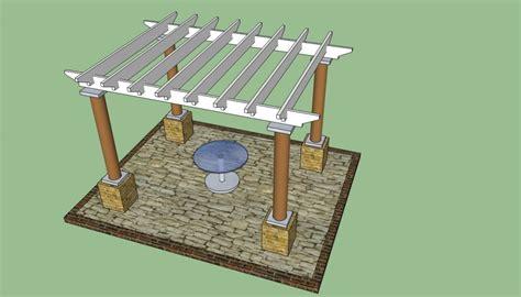 build pergola plans pergola design howtospecialist how to build step by