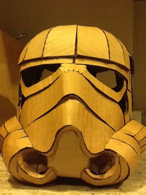 How To Make A Paper Stormtrooper Helmet - cardboard stormtrooper helmet