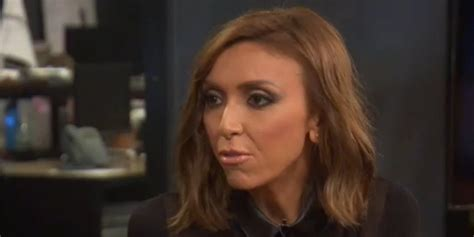 whats wrong with guiliana rancics face giuliana rancic doesn t want the e editor behind the