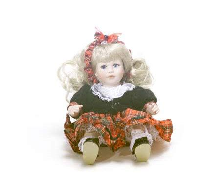 7 inch porcelain dolls cassidy 7 inch porcelain doll by osmond qvc