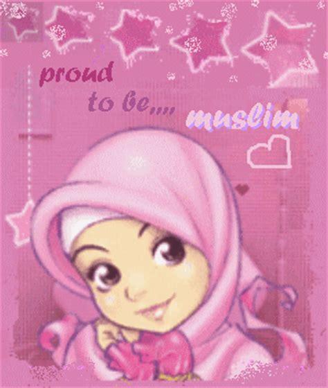 wallpaper bergerak yang cantik gambar kartun muslimah yang imut dan cantik si gambar