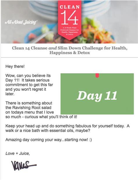 14 Day Gut Detox Plan by Clean 14 Cleanse Program