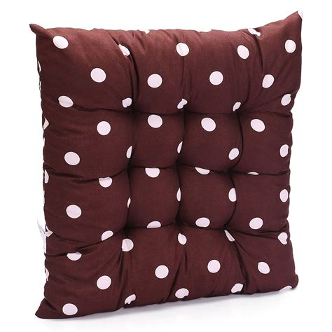 Tie On Chair Cushions by Tie On Dotty Chunky Seat Pad Chair Cushion Pads Dining