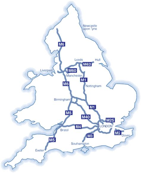 map uk motorway services pin map of motorways in the republic on