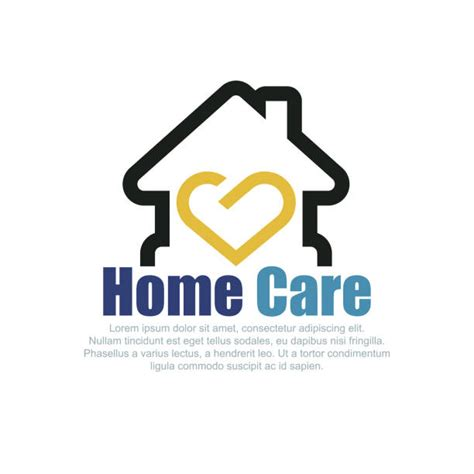 home caregiver illustrations royalty  vector graphics