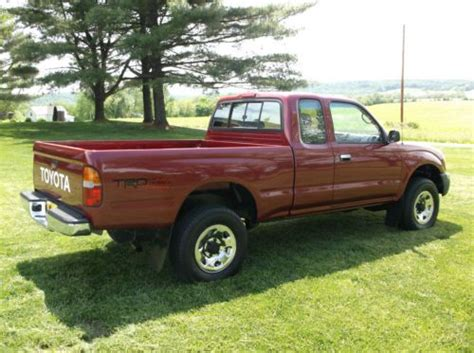 1998 Toyota Tacoma 4x4 Mpg Buy New 1998 Toyota Tacoma With Only 45 376
