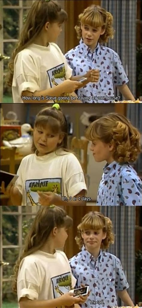 cousin steve full house full house cousin steve fun fact dj s candace cameron cousin in this episode is