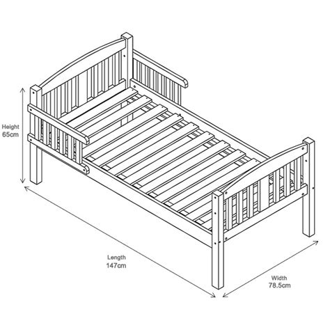 What Size Is A Toddler Bed by Toddler Bed Size Chart Home Design Ideas