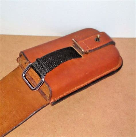 Handmade Leather Holster - 25 best ideas about phone holster on leather