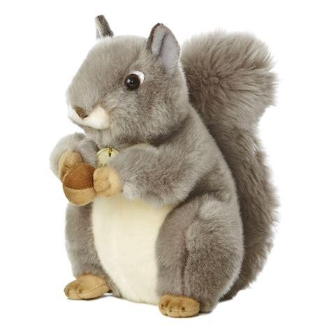 realistic stuffed realistic stuffed gray squirrel 10 inch plush animal by
