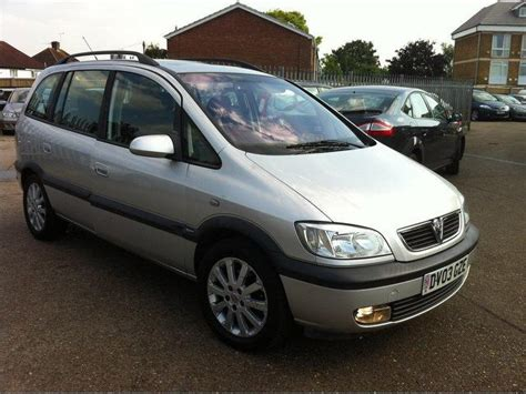 opel zafira 2003 used vauxhall zafira for sale under 163 4000 autopazar