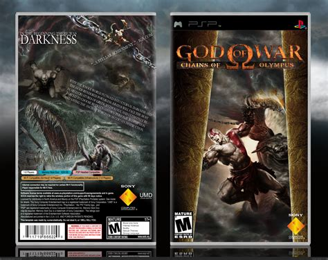 god of war chains of olympus film god of war chains of olympus psp box art cover by