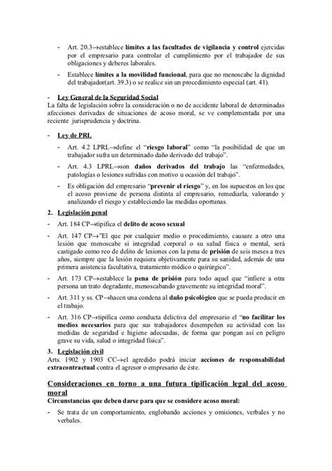 derecho del trabajador rincon del vago derecho del trabajador rincon del vago acoso laboral rinc
