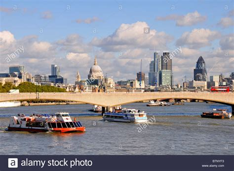river thames excursion boats tour boats waterloo bridge river thames and city of london