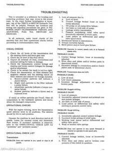 caterpillar 941 951 traxcavator service manual