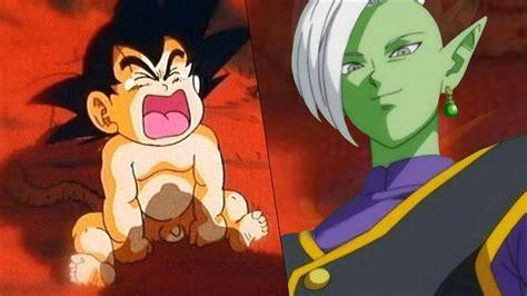 imagenes de goku bebe 191 zamasu se roba a goku bebe teoria dragon ball super
