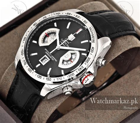 High Quality Exclusive Tag Heuer Canvas Chrono Detik Brown Terlaris tag heuer calibre 17 black exclusive watchmarkaz pk watches in pakistan rolex watches