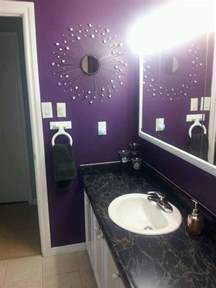 Purple Bathroom Ideas Purple Bathroom Things I Redid Pinterest Purple